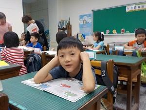 20150831兒子小學開學日 (3)