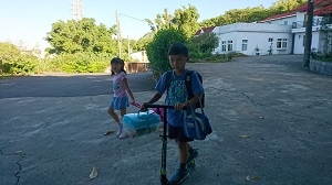 女兒開學日2