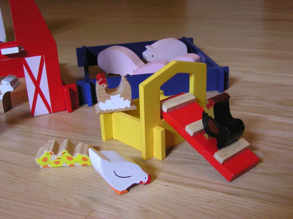 農家生活玩具組