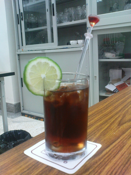 我的第一道調酒-波本可樂-Burbon Coke