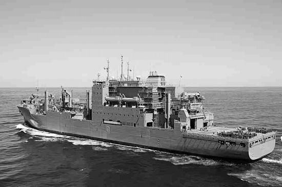 越戰美國軍艦