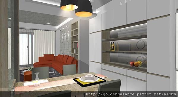 城峰-羅宅-3D模擬實境[新竹室內設計%2F竹北室內設計]-簡約時尚風格