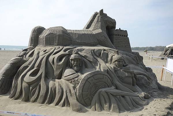 台南馬沙溝2013一見雙雕藝術季