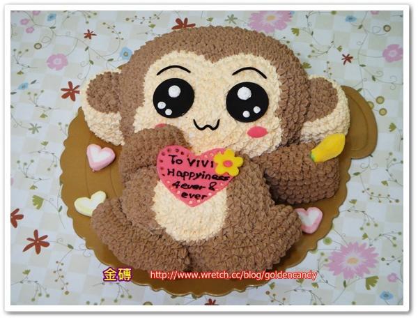 B23. 愛心猴1600