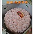 玫瑰花蛋糕900元(鮮奶油量少)