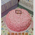 漸層玫瑰花蛋糕1200(鮮奶油量較多)