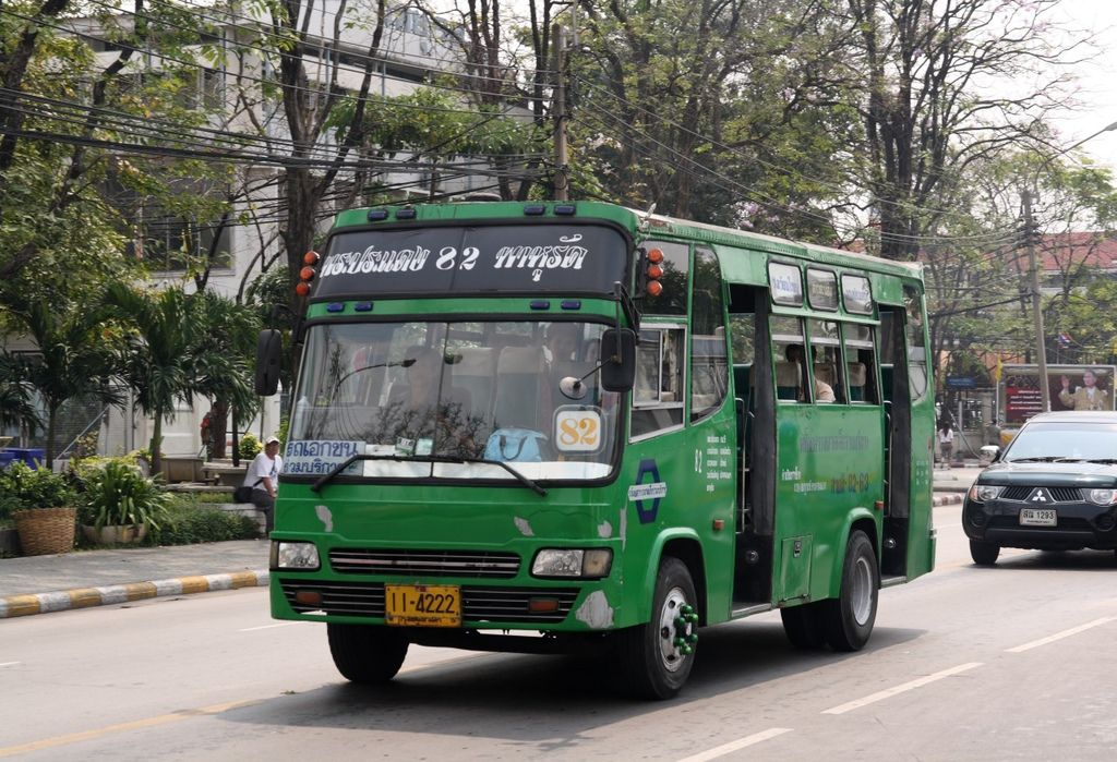 Bangkok_Green_bus