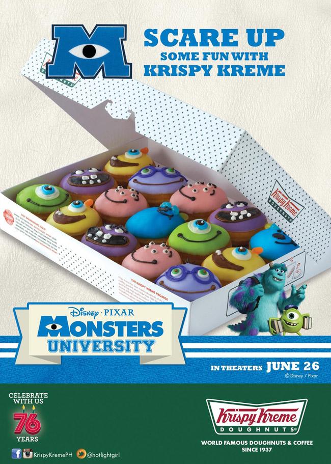 Krispy Kreme Doughnut Price Monster University