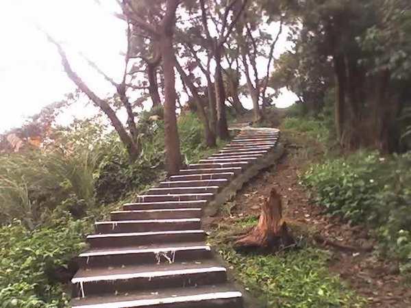 全段唯一的階梯