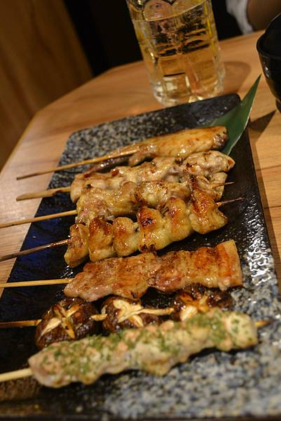 串燒盛合七串