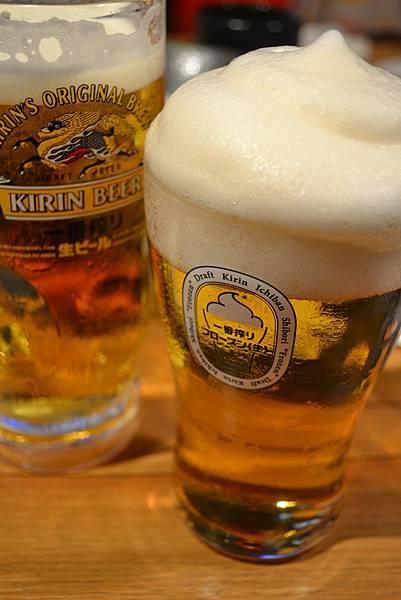 麒麟一番搾 麥芽100% + 啤酒冰沙