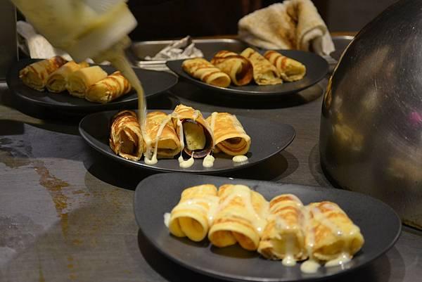 甜點: 香蕉捲餅