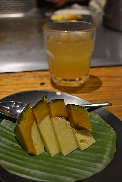 甜點: 南瓜布丁