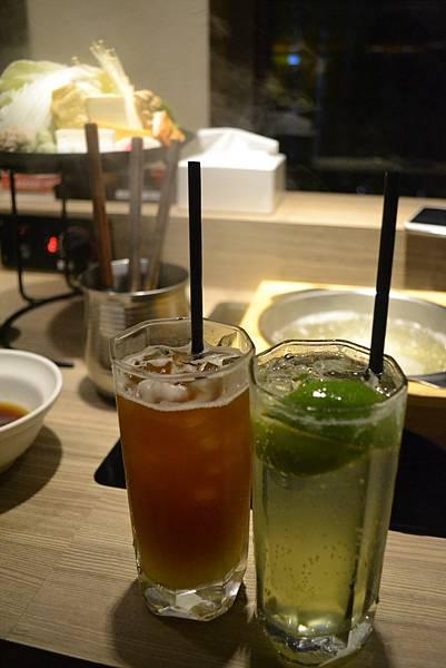 鳳梨紅茶與檸檬摩西多~