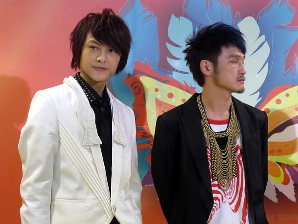 《消失.com》的兩位男主角─王子&林柏昇