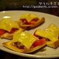 起司番茄沙沙醬烤麵包