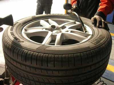 輪胎充氮氣