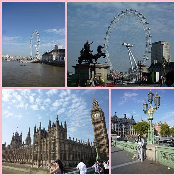國會大廈與倫敦眼