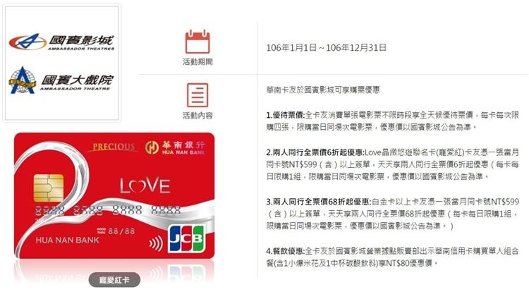 華南寵愛紅卡2-1