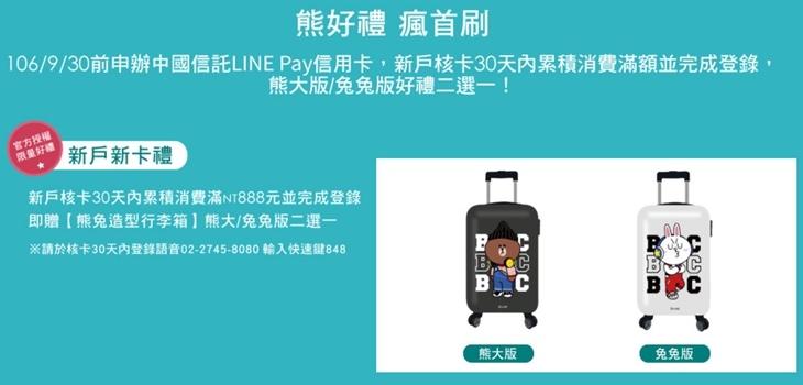 中信LINE卡