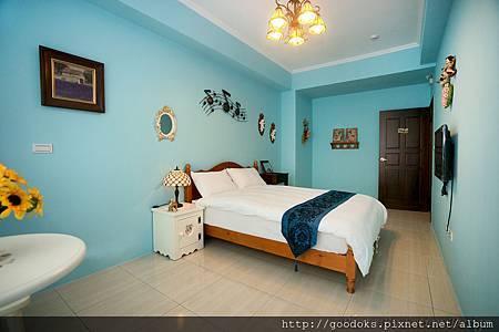 2-藍色海洋雙人房-2