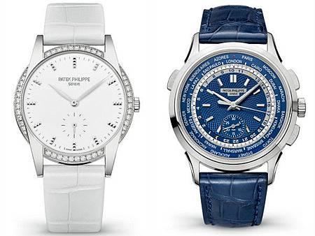 百達翡麗錶展開跑 兩大複雜功能腕錶吸睛