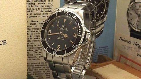 戴41年「勞錶」拍賣,價格竟翻百倍