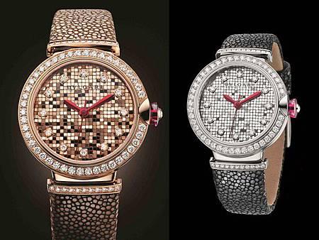 寶格麗錶上貼700塊「馬賽克金磚」