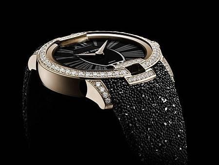 羅杰杜彼再推出超奢華錶款,錶上是「魚子醬」