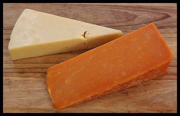 cheddar & red leicester