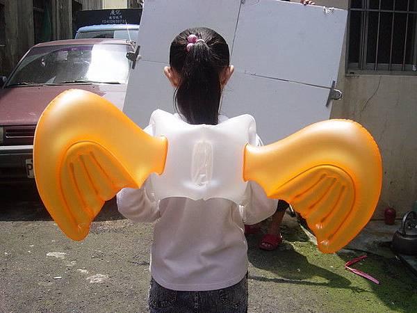 天使翅膀(小)~70cm,小孩子背起來超可愛的