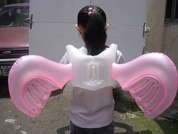 天使翅膀(小)~較瘦小的大人亦可背