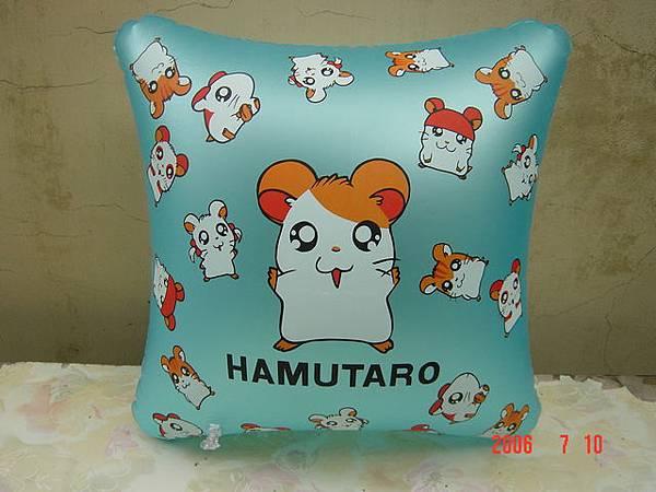 哈姆太郎方型抱枕-35cm.JPG