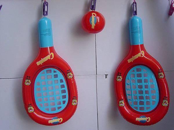 網球拍-拍60cm,球直徑12cm