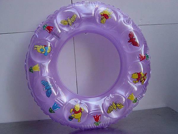 充氣游泳圈--直徑50cm,內徑25cm