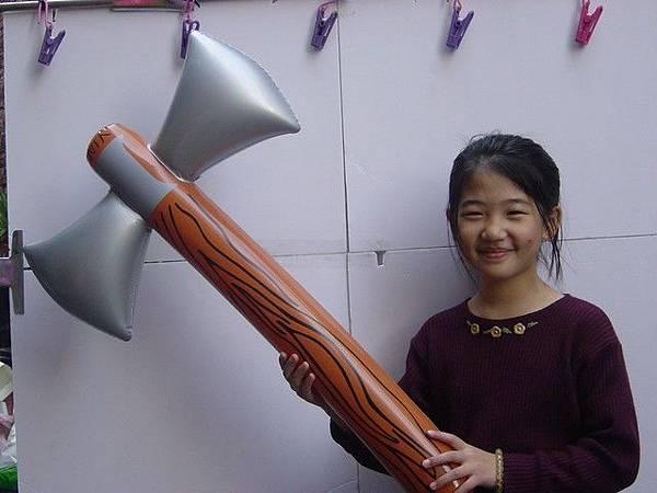 雙面斧頭-80cm