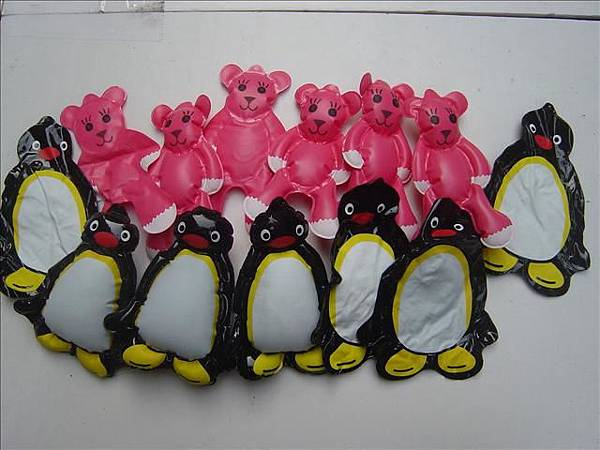小企鵝及小MOMO熊-16cm