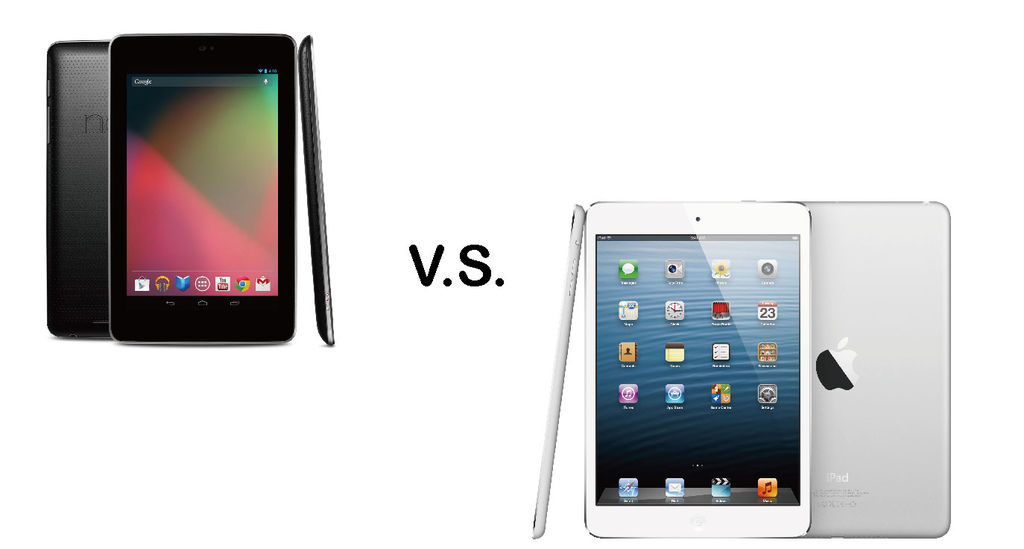 Apple iPad mini V.S.Google nexus 7
