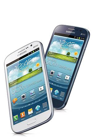 Samsung GALAXY Grand Duos 將推出繁星白、深海藍兩款新色