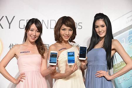 Samsung GALAXY Grand Duos大螢幕滿足多工處理 創造工作娛樂大享受