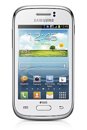 Samsung GALAXY Young包括雙卡版本 讓使用者無論在工作中或休閒時皆可運用兩支電話號碼進行通話、簡訊以及瀏覽網路等功能