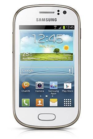 Samsung GALAXY Fame擁有時尚外型,並提供細膩、簡易且強大的使用者體驗