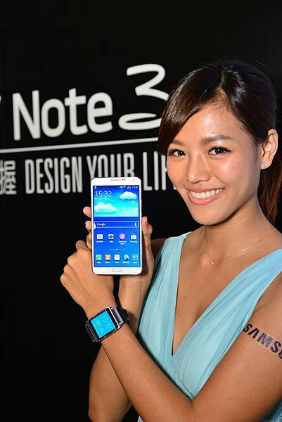 GALAXY Note 3搭配最佳智慧夥伴GALAXY Gear 為消費者帶來更便利、隨時連線的行動生活2