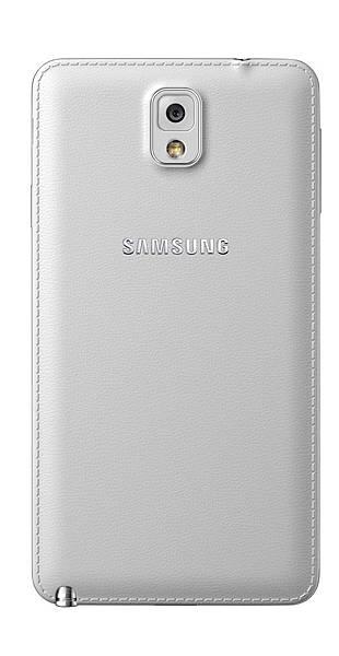 Samsung GALAXY Note 3 首創皮革觸感 工藝美學完美觸動