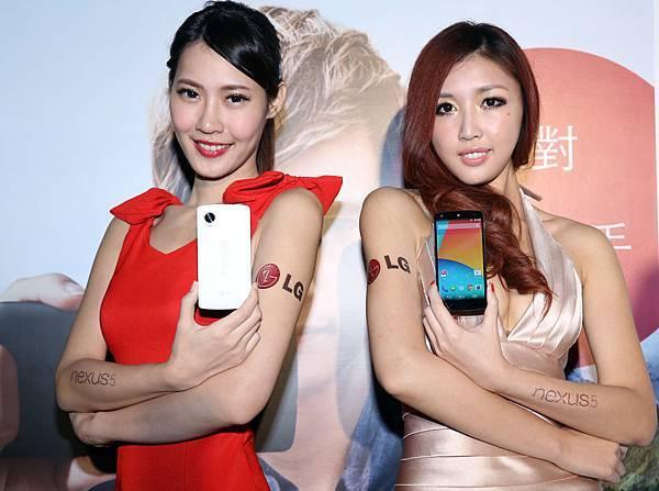 絕美外型 時尚設計,Nexus 5亮麗登台