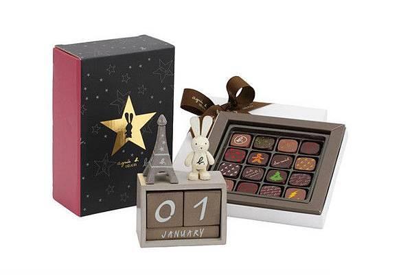 小兔日曆夾心巧克力禮盒組 NT$ 1,980