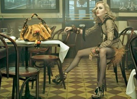 LV with Madonna