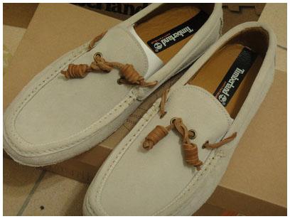 Timberland 2011灰色麂皮帆船鞋