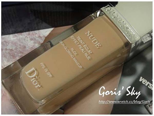 Dior輕透光裸膚粉底液