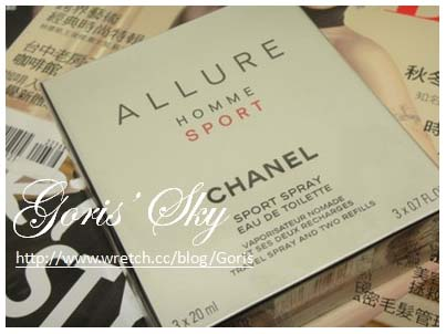 CHANEL ALLURE HOMME SPORT行動香水